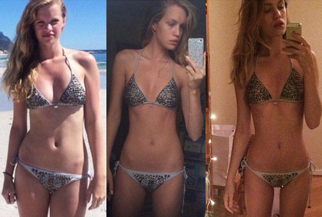 This Skinny Girl Is Too Fat to Be a Model
