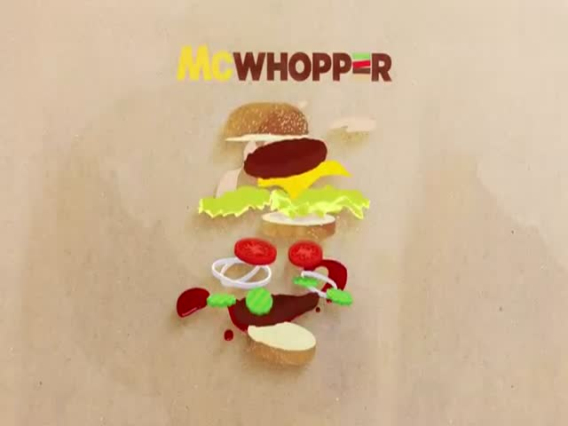 "Burger King Invites McDonalds to Collaborate on the ""McWhopper"" for Peace Day"
