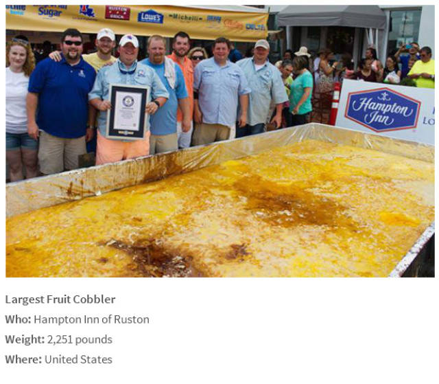 Gigantic Food Creations That Have Set Records Worldwide