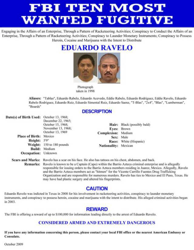 FBI's Most Wanted Runaway Criminals in the World