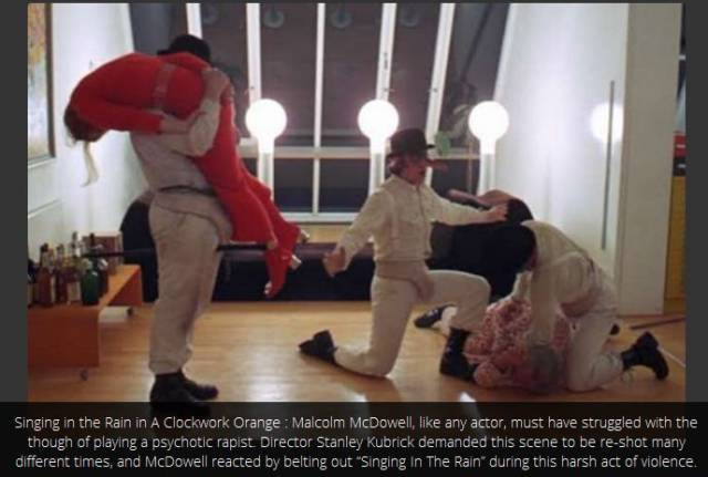 clockwork orange singing in the rain - 456×446