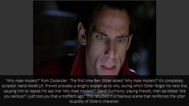 Memorable Movie Scenes That Were Totally Improvised