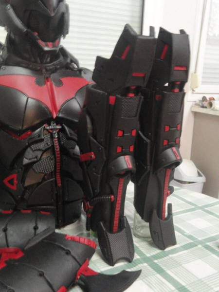 This Homemade Batman Armor Is 100 Percent Kick Ass