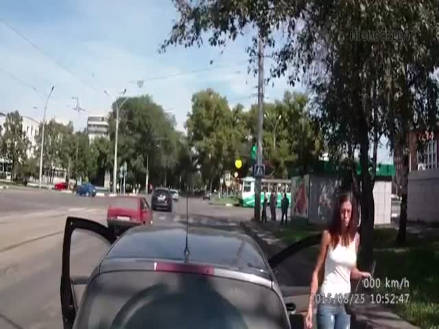 Russian Road Rage Is a Little Different to the Rest of the World