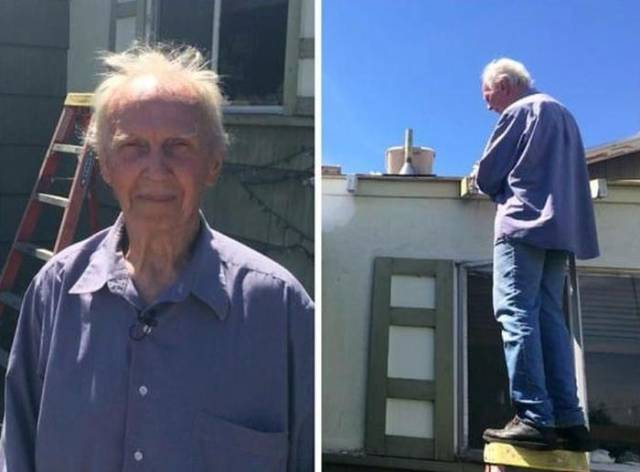 Kind and Caring Strangers Pitch Up to Lend an Old Man a Helping Hand