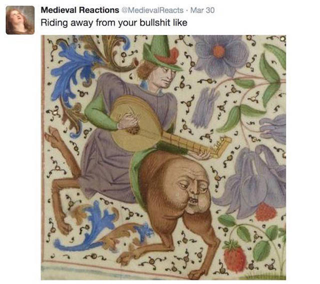 Medieval Art Captures Modern Life Perfectly