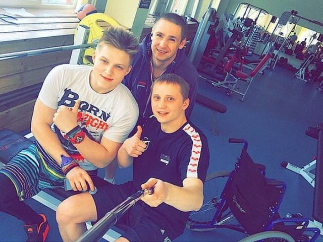 The Disabled Teen Who Was Inspired to Get Fit and Change His Lifestyle