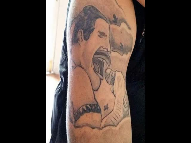 Singing Tattoo Freddie