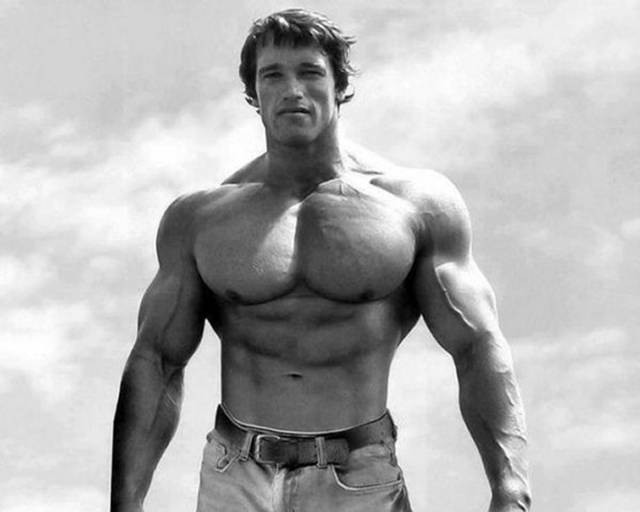 Retro Images of Arnold Schwarzenegger at the Peak of His Bodybuilding Career