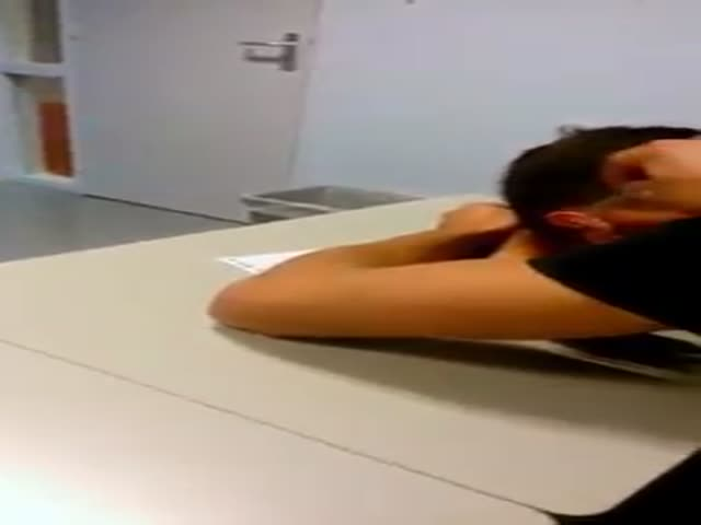 This Teacher Has an Extreme Policy against Students Sleeping in Class