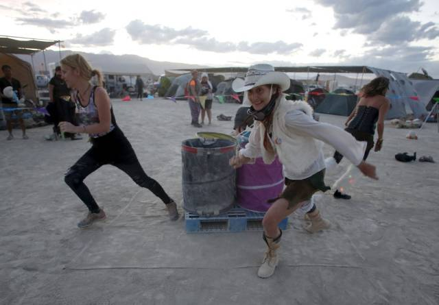 Candid Pics from the 2015 Burning Man Festival
