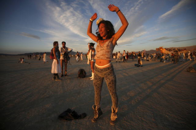 Candid Pics From The 2015 Burning Man Festival 54 Pics