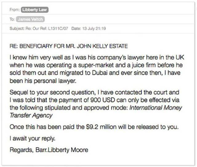Dude Gets Involved with an Email Scammer but Turns the Tables Around in a Very Funny Way