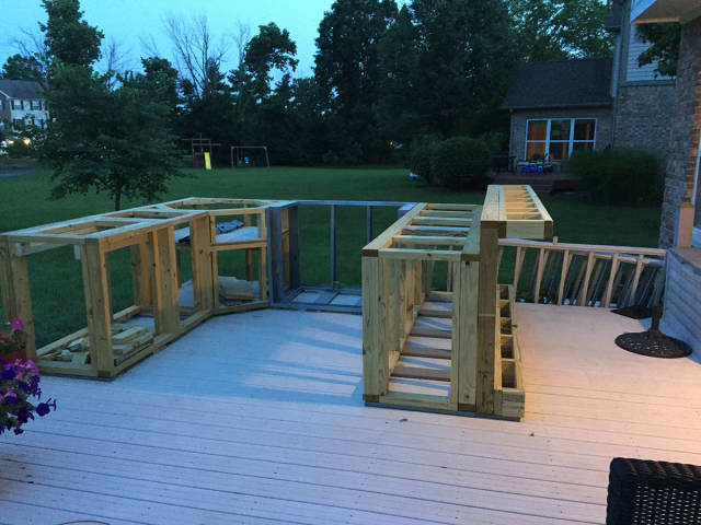 How to Turn Your Unused Outdoor Deck into an Awesome Functional Kitchen Space