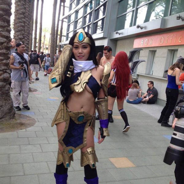 The Cute and Sexy Girls of Cosplay