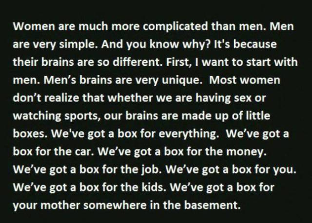 The Main Reasons Why Men and Women Think about Life So Differently