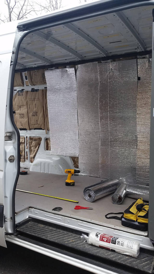 Mercedes Sprinter Converted into a Cute and Comfortable Mobile Home