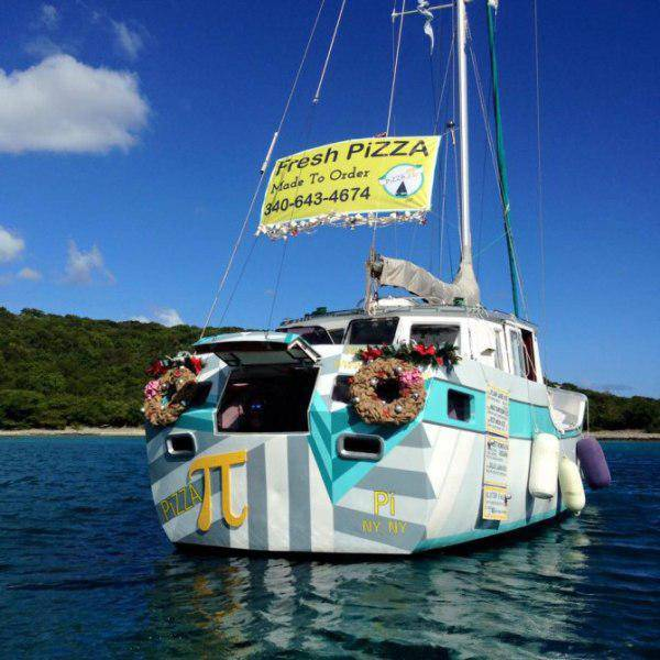 The Couple who Built a Floating Pizzeria in the Tropics