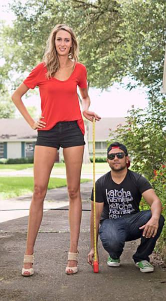 This Leggy Model Has Legs That Go On for Days