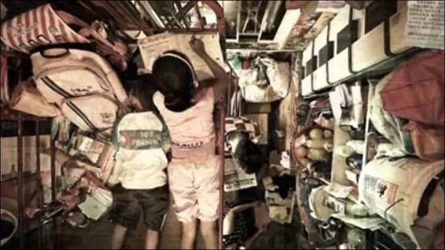 Towering Apartment Buildings Provide Tiny Cramped Accommodation for Residents in Hong Kong