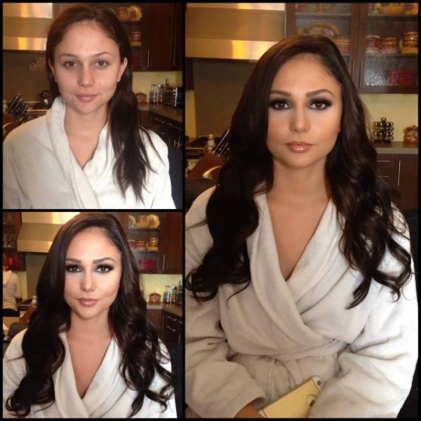 Even Gorgeous Porn Stars, Models and Adult Entertainers Need a Little Makeup Help