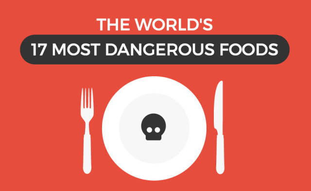 Foods That Are Actually Deadly to the Human Body