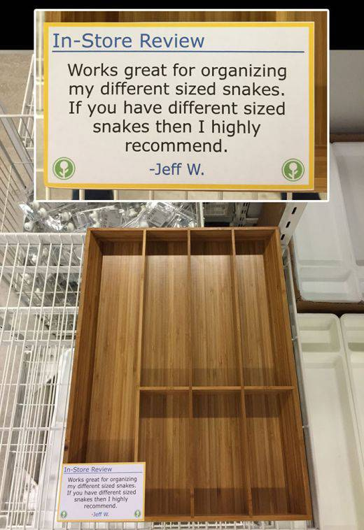 Witty IKEA Customer Leaves Hilarious In-Store Reviews