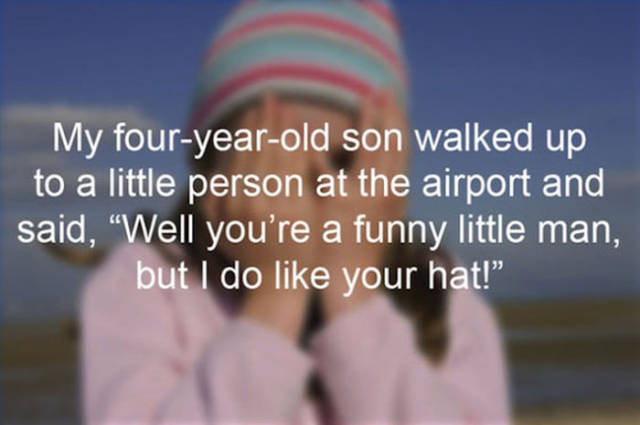 You Can Always Rely on Your Kids to Embarrass You in Public