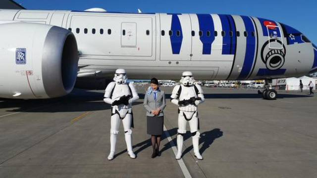 This Epic Star Wars Themed Japanese Airline Is Truly One-of-a-kind