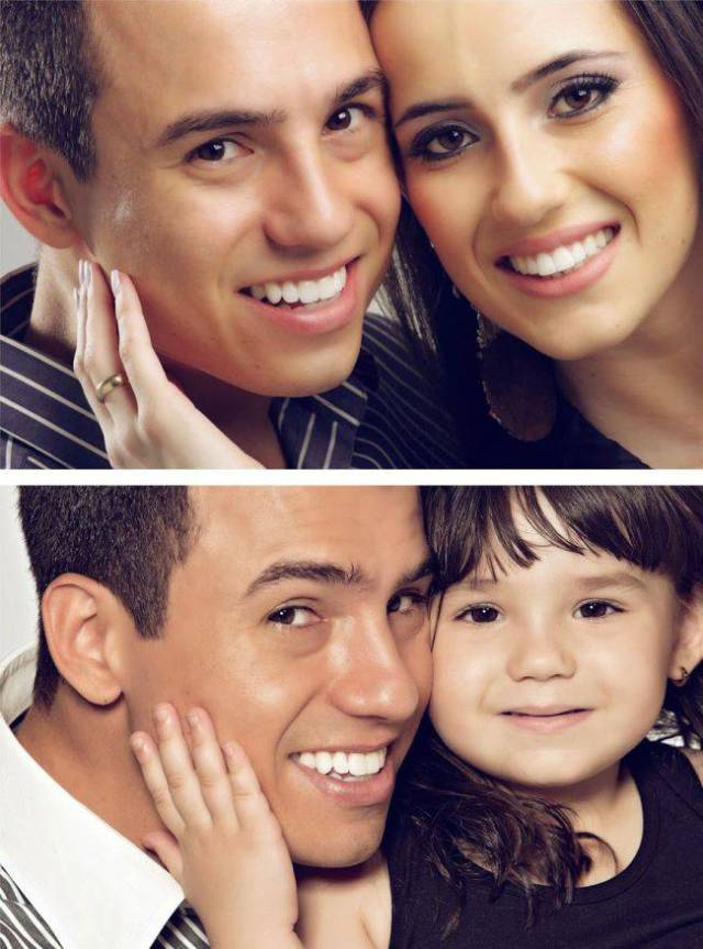Man Pays Tribute to His Late Wife in Adorable Father and Daughter Photoshoot