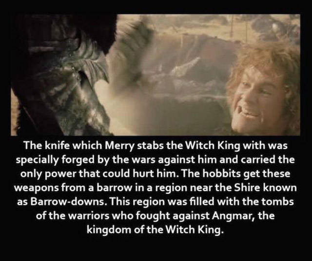 "Some Interesting ""Lord of the Rings"" Trivia"