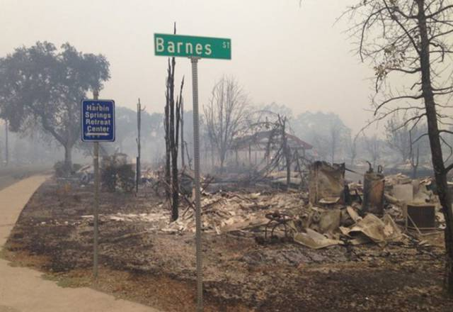 The 100,000 Acre Fire in California Did Some Serious Damage