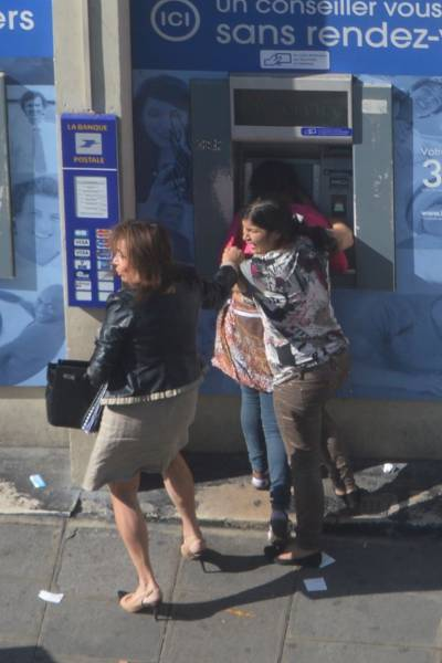 Using an ATM Can Be Dangerous