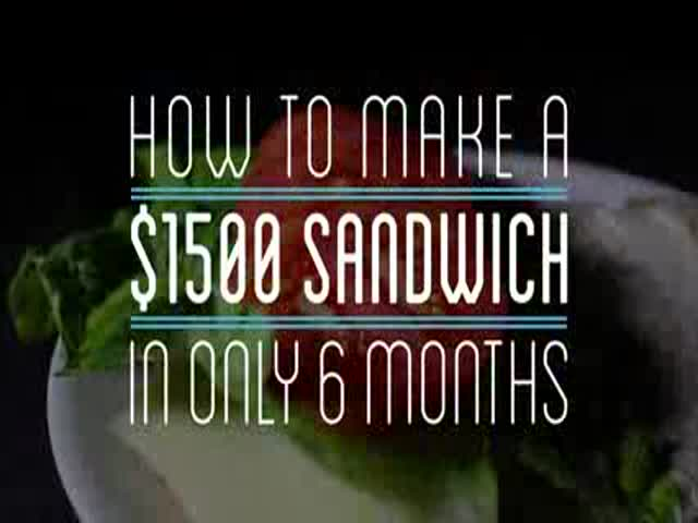 Man Takes 6 Months to Make a Sandwich Completely from Scratch and It Costs Him a Whopping $1500