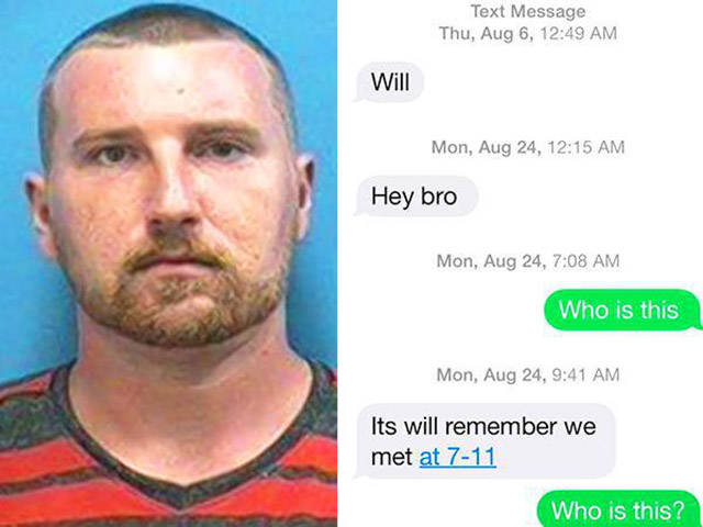 Dude's Wrong Number Text Gets Him Arrested