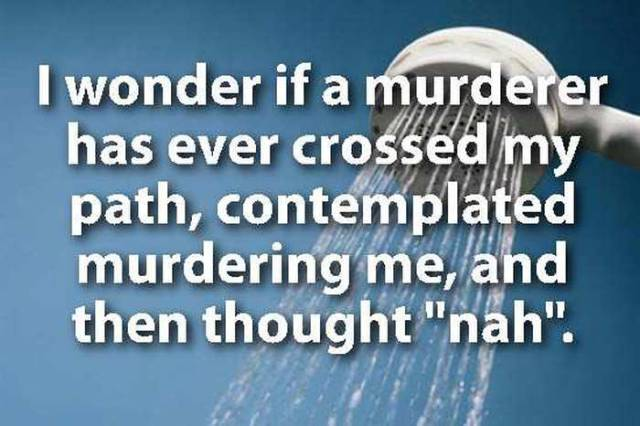 Profound Shower Thoughts That You Will Definitely Ponder for a Long Time to Come