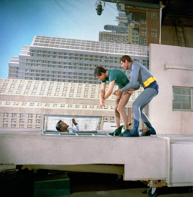 "The Magic behind the Making of the Popular 60s ""Batman"" TV Show"