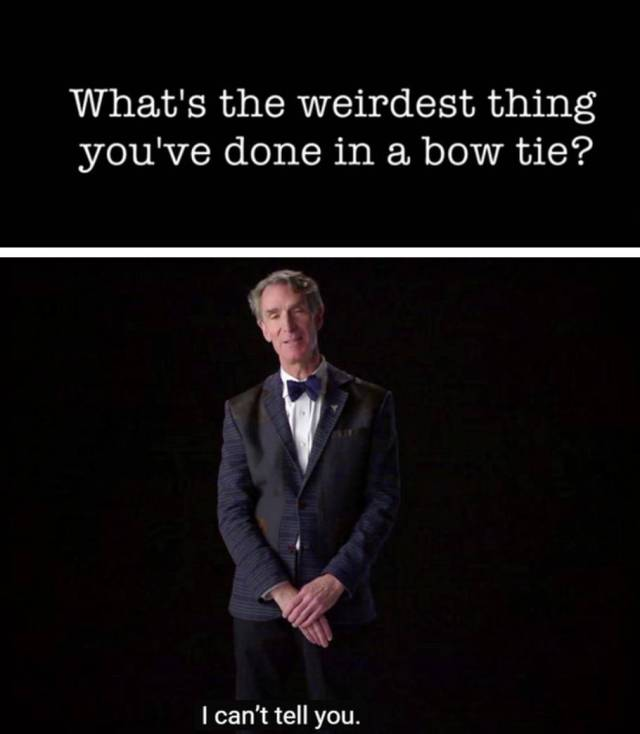Bill Nye Really Is the Coolest Science Guy in the World