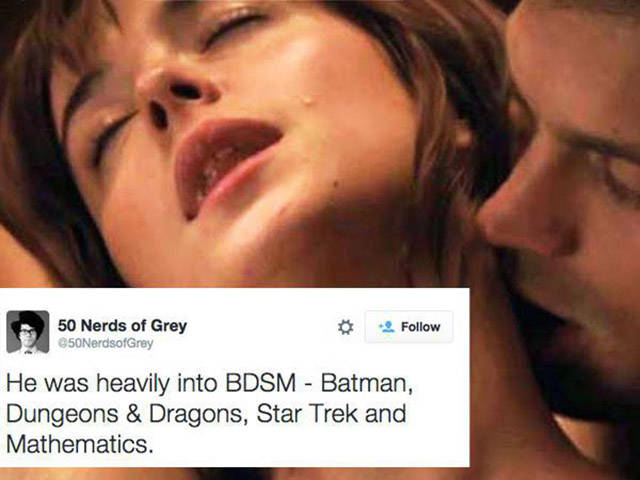 """What """"50 Shades of Grey"""" Would be Like If It Was Remade for Nerds"""