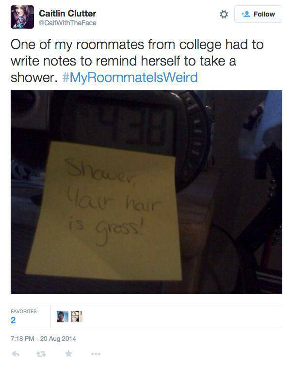 You Should Always Choose Your Roommates Very Carefully