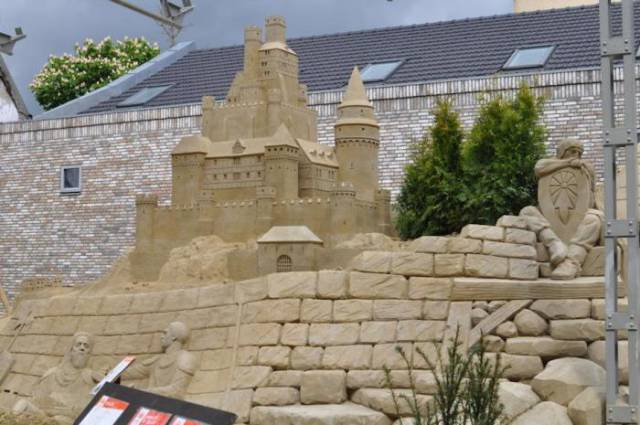 A Magnificent Life Sized Sand Castle That You Can Stay at Overnight