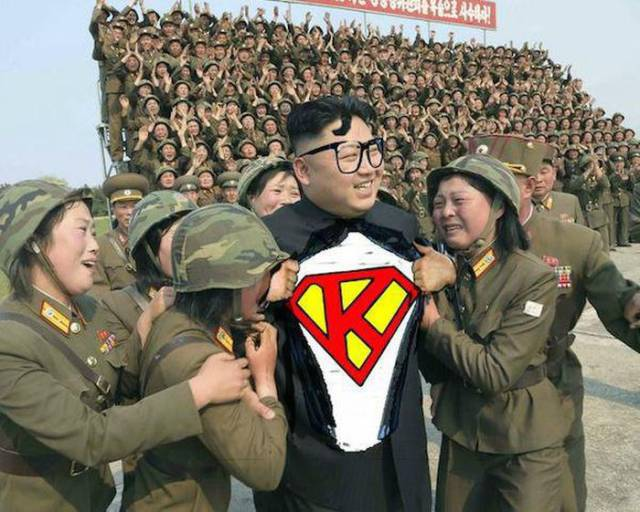 Kim Jong-Un Is the Perfect Photoshop Candidate