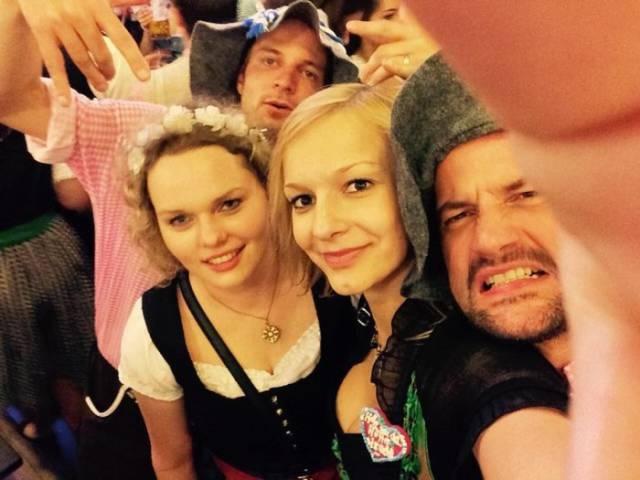 Moments Captured at Oktoberfest