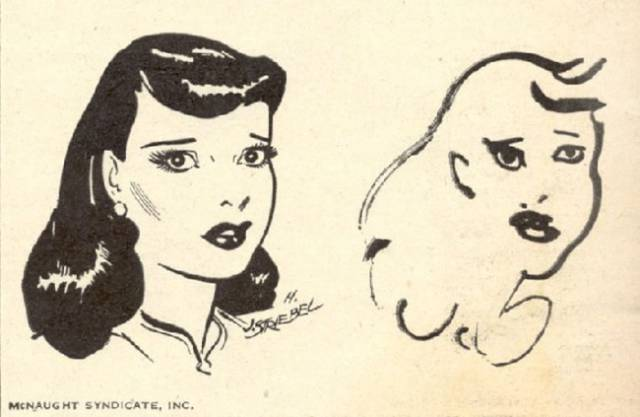 Cartoon Illustrators Try to Draw Characters with Their Eyes Closed