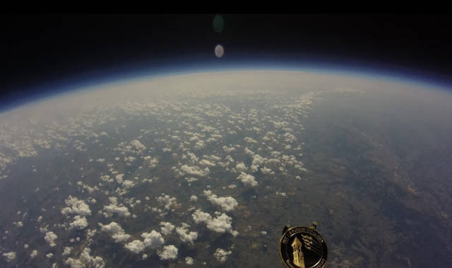 GoPro Camera Films Life above the Clouds