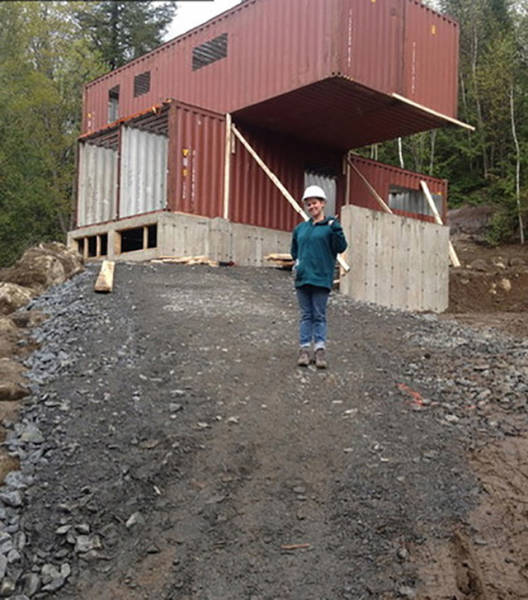 You Will Be Amazed to See What This Man Does with a Few Shipping Containers