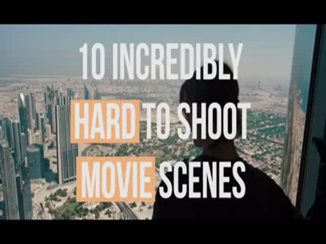 The Most Complex and Difficult Movie Scenes Ever Filmed