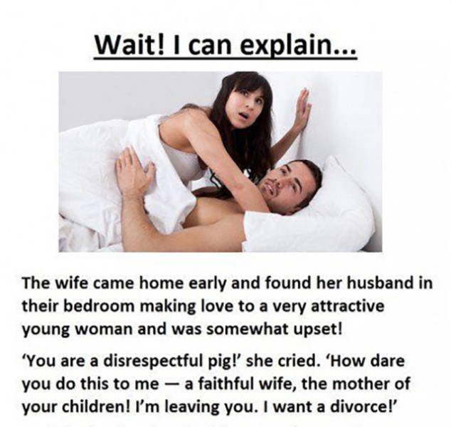 Cheating Husband Gets the Last Laugh Over His Angry Wife