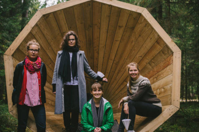 Estonian Students Have Built Something Very Unique in The Forest of Estonia