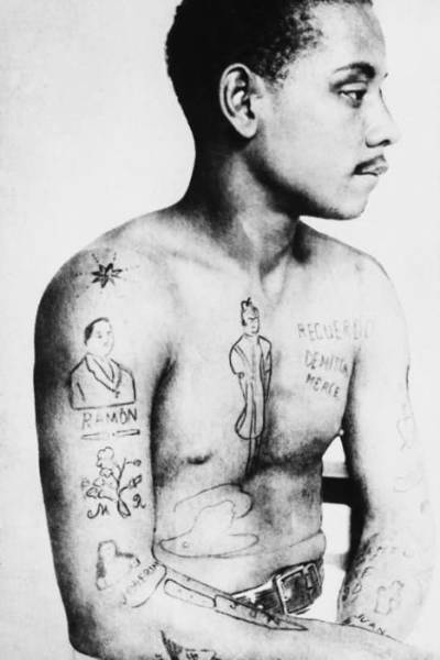 Old-school Pics of Tattoos Done in the Early 1900s